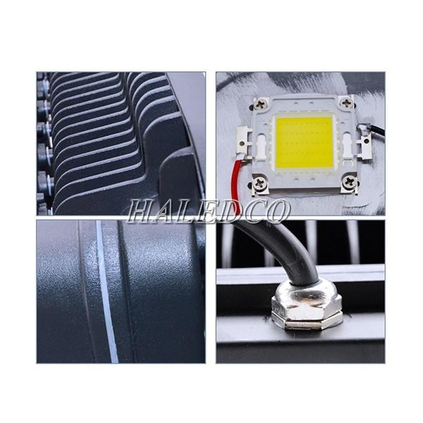 Cấu tạo các bộ phận của đèn pha led HLFL11-300w