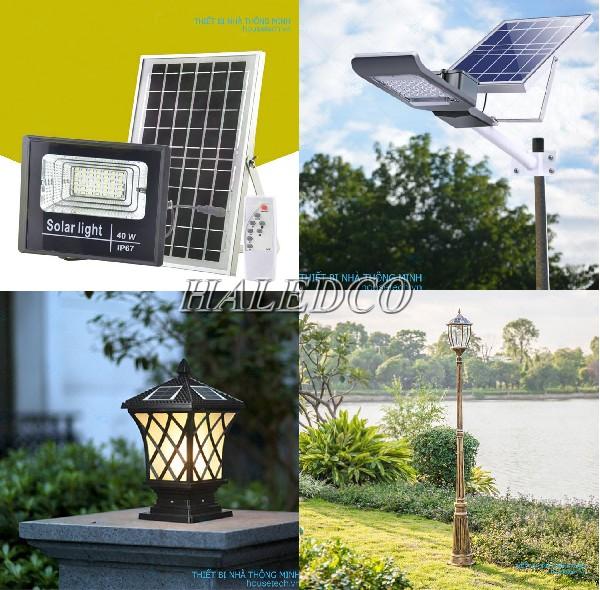 Những mẫu đèn led sử dụng năng lượng mặt trời của House Tech bán tại Hà Nội