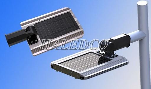 Bộ đèn đường sử dụng năng lượng mặt trời