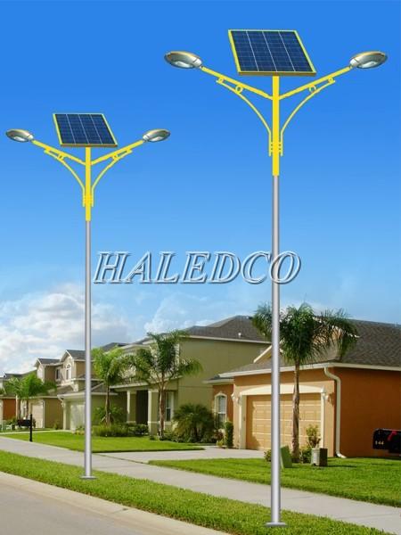Đèn cao áp năng lượng mặt trời chiếu sáng đường phố