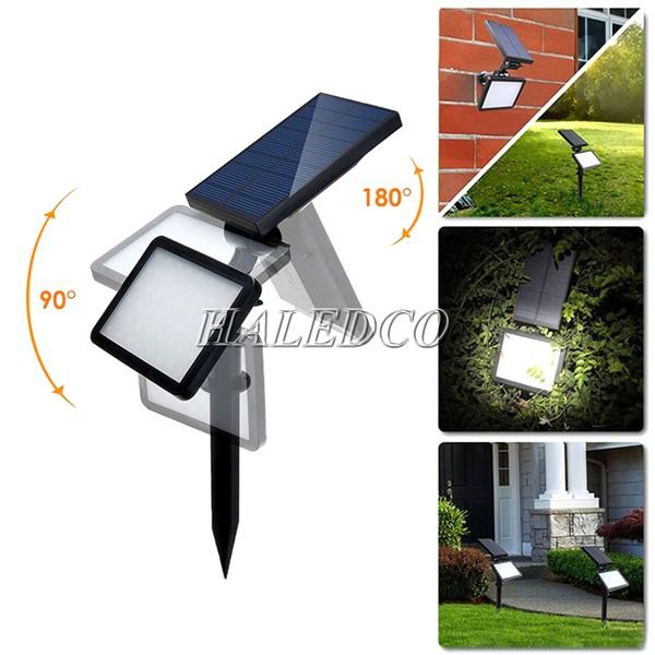 Đặt đèn sân vườn sử dụng năng lượng mặt trời