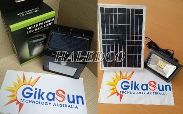 Đen led sử dụng năng lượng mặt trời Gikasun