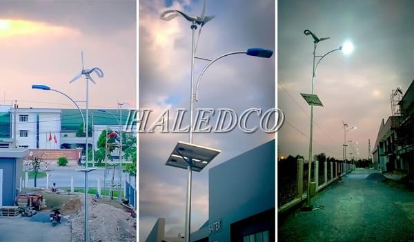 Đèn led sử dụng năng lượng mặt trời của công ty Vũ Phong Solar