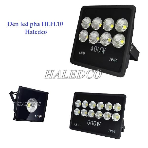 Đèn pha led HLFL10 chiếu sáng sân tennis