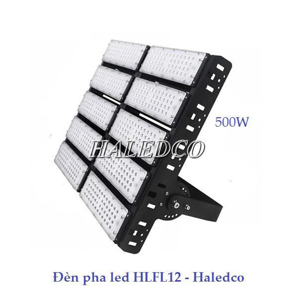 Đèn pha led HLFL12 chiếu sáng sân tennis