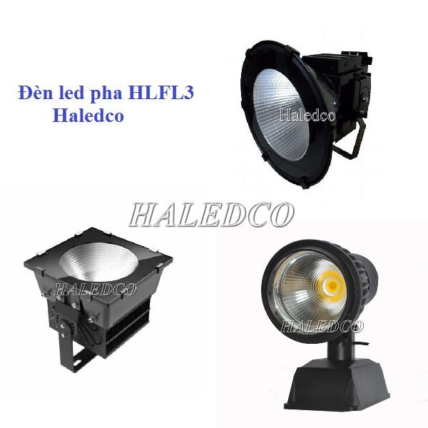 Đèn pha led HLFL3 chiếu sáng sân tennis