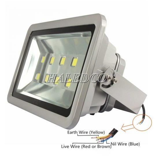 Đèn pha led HLFL1 chiếu sáng sân tennis