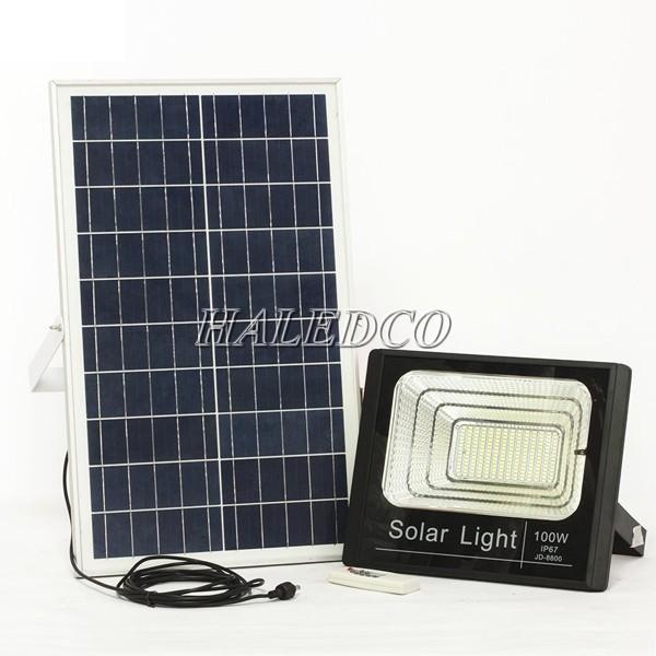 Đèn pha led năng lượng mặt trời tại Hà Nội mang thương hiệu Haledco