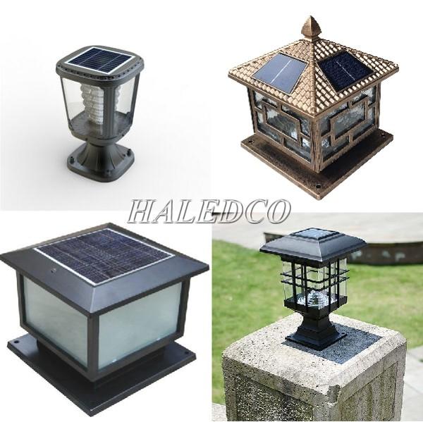 Đèn trụ sân vườn năng lượng mặt trời của Haledco