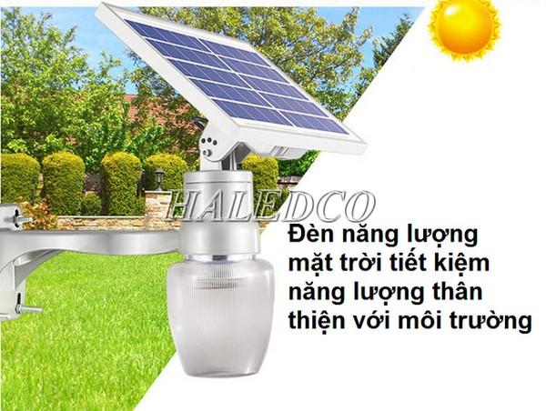 Lợi ích sử dụng đèn sử dụng năng lượng mặt trời
