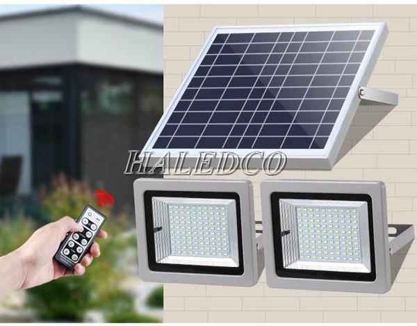 Đèn pha led năng lượng mặt trời, sản phẩm chiếu sáng ưu Việt hiện nay