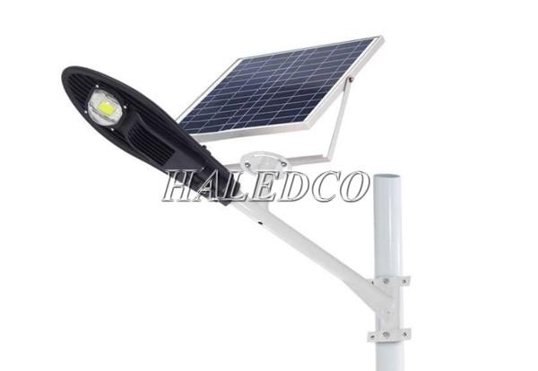 Kiểu dáng đèn đường led sử dụng năng lượng mặt trời 10w