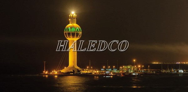 Ứng dụng đèn pha led HLFL32-200