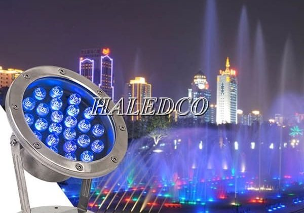 Bảng báo giá đèn led âm nước chiết khấu 45%