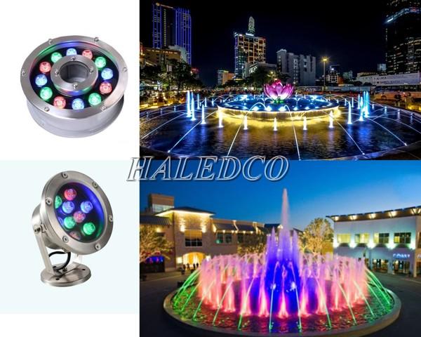 Báo giá đèn led âm nước đổi màu