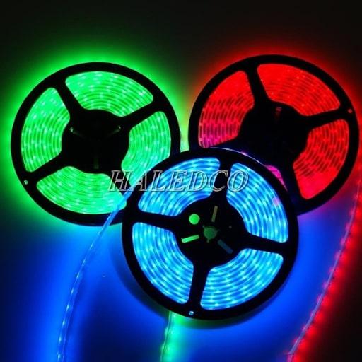 Đèn led dây chống nước HLSTUW - 5050 RGB