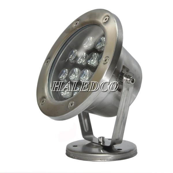 Bộ đèn led dưới nước 12w sử dụng chip mắt chiếu sáng