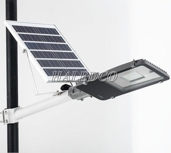 Đèn đường led năng lượng mặt 100w pin rời Mã SP: HLMTS1-100