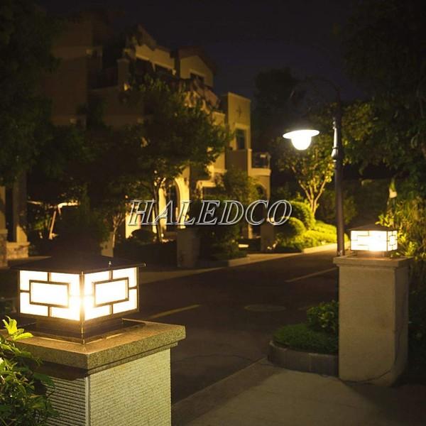 Đèn cổng trang trí biệt thự đơn giản