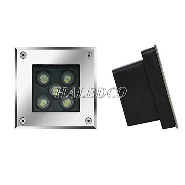 Cấu tạo của đèn LED âm đất HLUG2-5 RGB