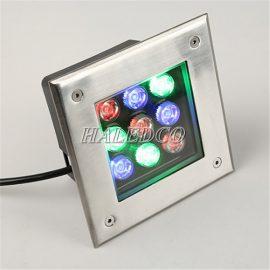 Đèn LED âm đất HLUG2-9 RGB