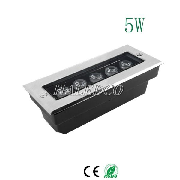 Nguồn được tích hợp trong đèn LED âm đất HLUG3-5 RGB
