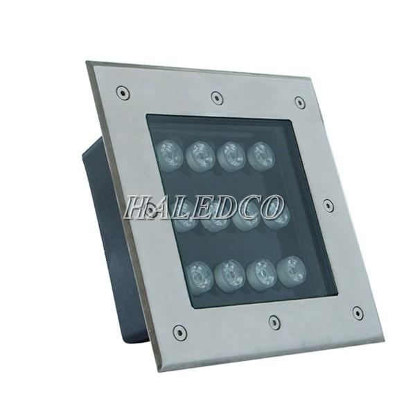 Kiểu dáng đèn LED ngoài trời âm sàn 12w
