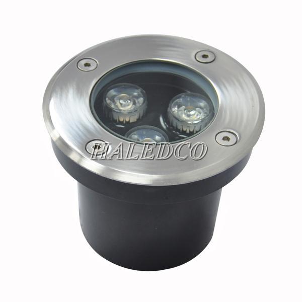Kiểu dáng đèn LED ngoài trời âm sàn 3w