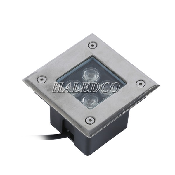 Kiểu dáng đèn LED ngoài trời âm sàn 4w