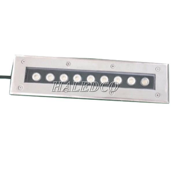 Kiểu dáng đèn LED ngoài trời âm sàn 9w