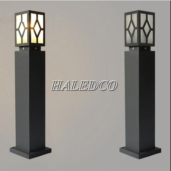 Kiểu dáng đèn trụ hình chữ nhật model HLTTDSV 18-1