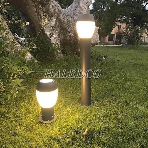 Mẫu đèn trụ sân vườn phong cách cổ điển