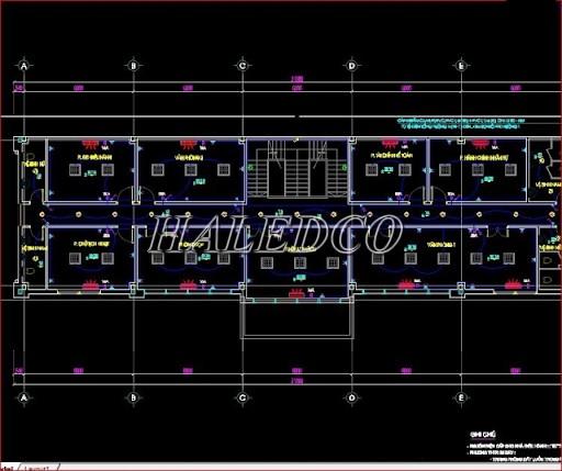 Bản vẽ thiết kế điện nhà xưởng
