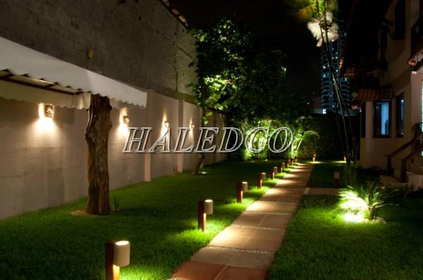 Ứng dụng của đèn pha LED chiếu hắt ngoài trời