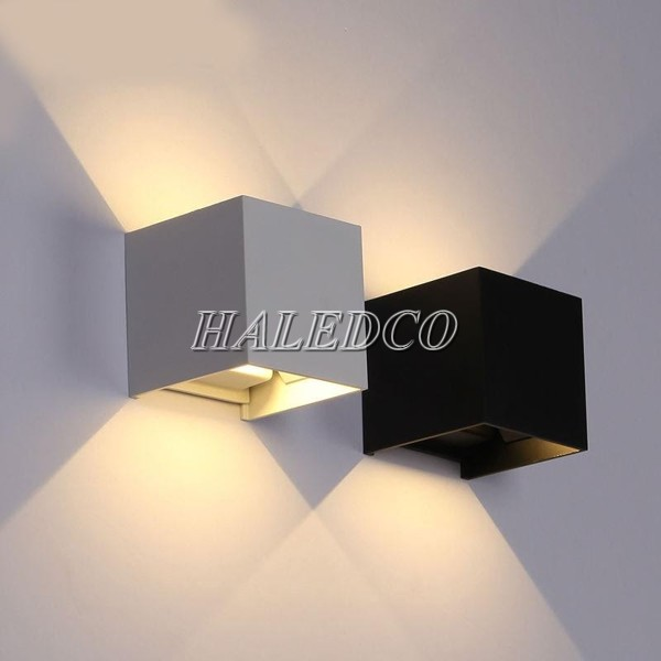 Đèn chiếu hắt tường 2 đầu