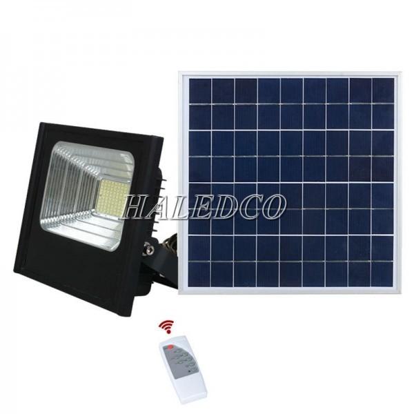 Đèn 150w năng lượng mặt trời HLMTFL6 sử dụng hệ thống điều khiển chiếu sáng từ xa