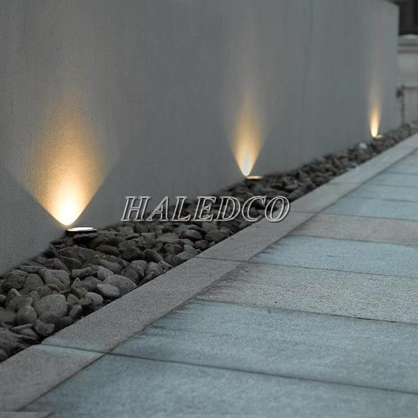Ứng dụng của đèn led âm sàn hắt tường