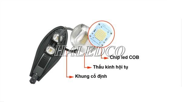 Ưu điểm đèn đường LED 250w: chống nước - tiết kiệm điện - kiểu dáng hiện đại..