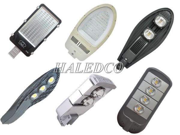 Một số loại đèn đường LED thường được dùng cho cột đèn tròn liền cần 7M