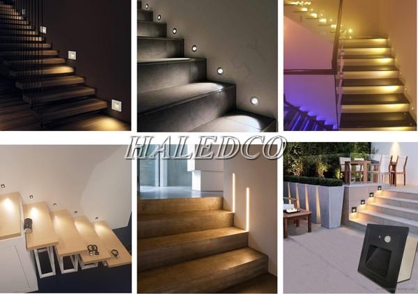 Đèn LED ốp tường bậc cầu thang