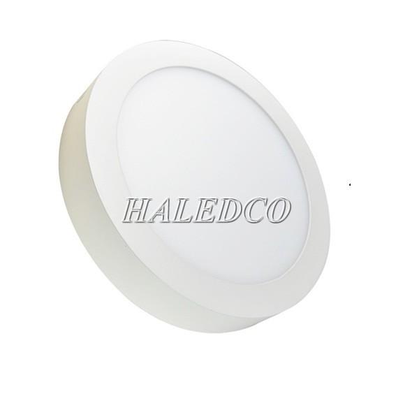 Kiểu dáng đèn LED panel 12w tròn nổi
