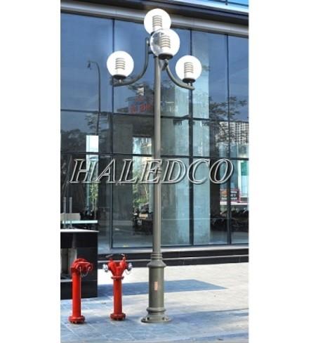 Cột đèn sân vườn Nouvo cấu tạo từ chất liêu cao cấp