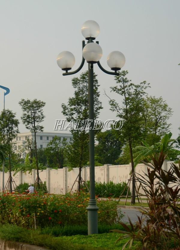 Kiểu dáng cột đèn sân vườn Nouvo