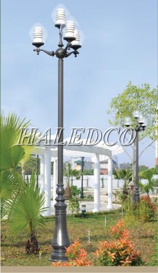 Thân cột đèn sân vườn DC06 có nhiều điểm nhấn đẹp mắt