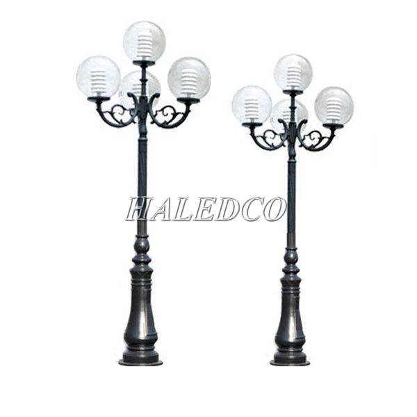 Cột đèn sân vườn DC06 thiết kế đẹp hiện đại