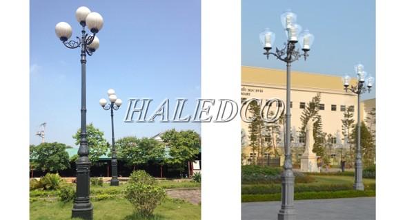 Ứng dụng của cột đèn sân vườn DC05B