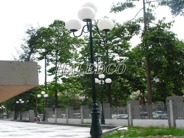 Ứng dụng lắp đặt của cột đèn sân vườn DC06