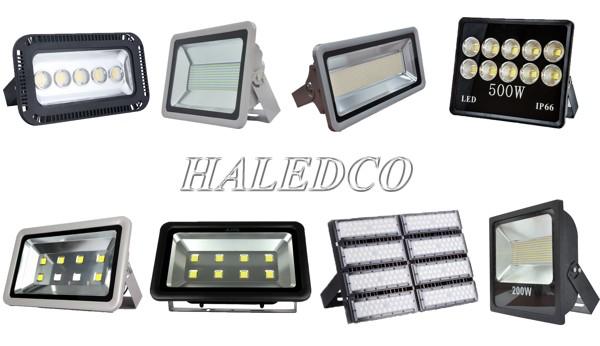 Các loại đèn pha LED phổ biến dùng lắp cho cột thép HLCDDGC 14M