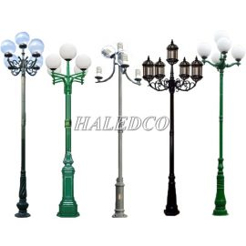 Cột đèn sân vườn 5 bóng