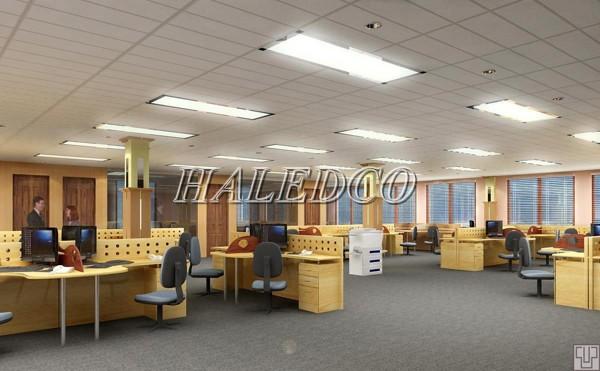 Đèn LED panel 300x1200 chiếu sáng văn phòng